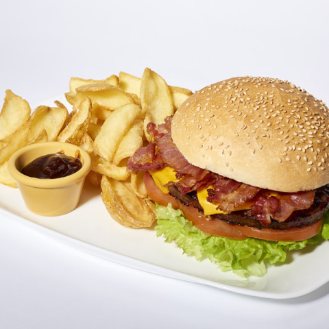 Bacon Cheeseburger   GREASE AMERICAN GRILL