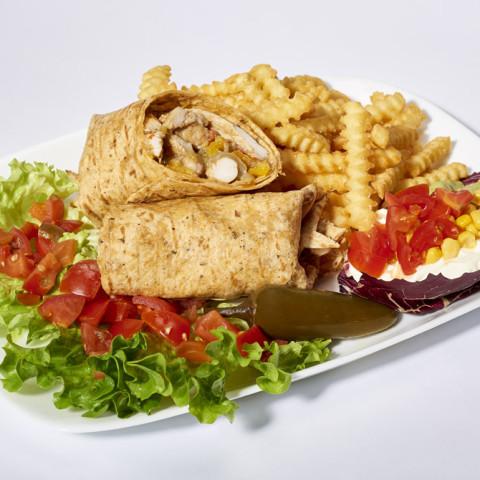 Burrito di pollo | GREASE AMERICAN GRILL