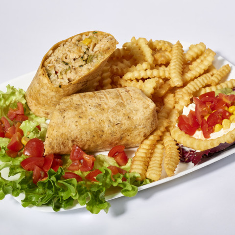 Burrito di salmone   GREASE AMERICAN GRILL