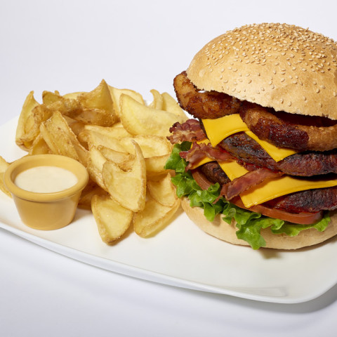 California Burger   GREASE AMERICAN GRILL