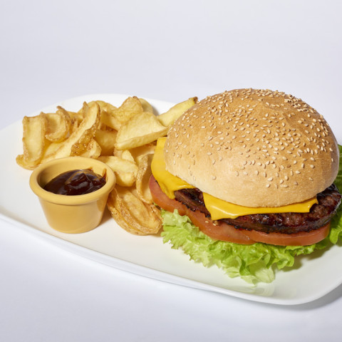 Cheeseburger   GREASE AMERICAN GRILL