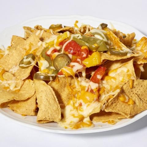 Chili Nachos | GREASE AMERICAN GRILL