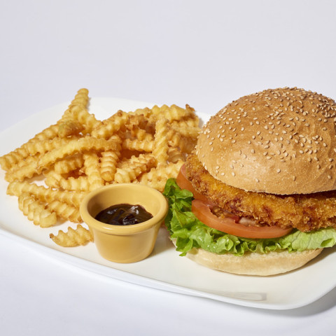 Crunchy Burger   GREASE AMERICAN GRILL