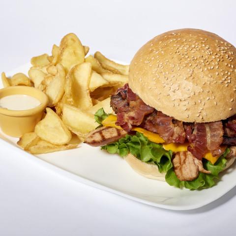 Danny Zuko Burger | GREASE AMERICAN GRILL