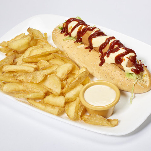 Hot Dog Classic | GREASE AMERICAN GRILL
