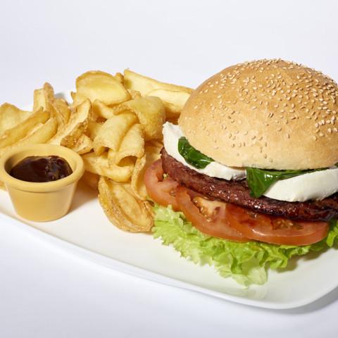Italian Burger   GREASE AMERICAN GRILL