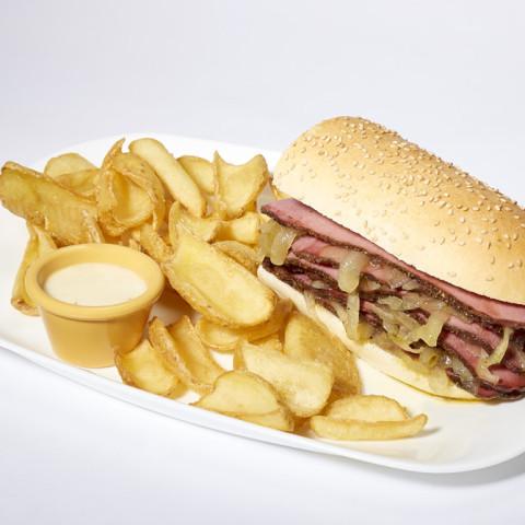 Pastrami Burger   GREASE AMERICAN GRILL