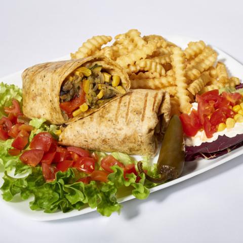 Veggy Burrito   GREASE AMERICAN GRILL